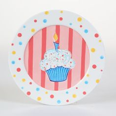 Special Day Cupcake Plate