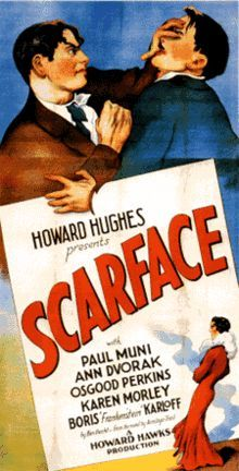 scarface the shame of the nation 暗黒街の顔役予告編、主演:ポール・ムニ、監督:ハワード・ホークスの1933年の映画です.