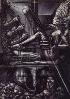 EL BLOG DE LA MUERTE: EL NECRONOMICÓN de H. R. Giger