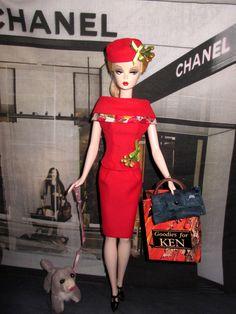 Vintage style Fashion Editor Club Meeting Mix & match set for silkstone Barbie Doll Clothes Barbie, Barbie Dolls, Barbie Convention, Barbie Go, Barbie Images, Barbie Wardrobe, Dancing Dolls, Vintage Style Dresses, Fashion Editor
