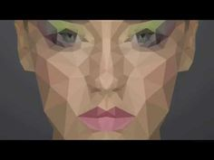 GOOD - USES RECORDED ACTIONS Low Poly Portrait in Photoshop (Tutorial) - YouTube