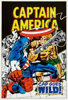 Cap Goes Wild - Jack Kirby