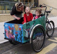 Customize the children box Christiania Bike, Professional Painters, Baby Strollers, Children, Box, Baby Prams, Boys, Kids, Prams