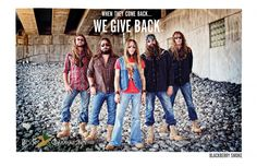 Blackberry Smoke says... America, get YOUR boots on! http://www.bootcampaign.com