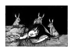 illustration-ilustracion:  KAt Philbin/ The Watchers
