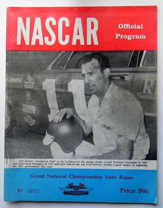 Ned Jarrett...from Hickory, NC