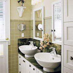 Small Bath With Major Splash - Southern Living