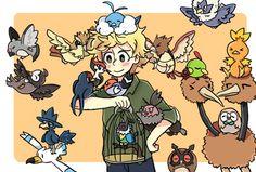 SP x pokemon crossover