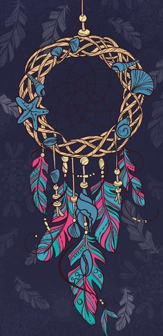 Dream Catcher wallpaper by NikkiFrohloff - - Free on ZEDGE™ Mandala Wallpaper, Dreamcatcher Wallpaper, Feather Wallpaper, Galaxy Wallpaper, Cartoon Wallpaper, Cool Wallpaper, Wallpaper Backgrounds, Dreamcatcher Feathers, Dreamcatchers