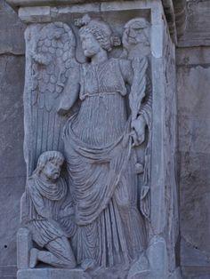 Detalle do arco de Constantino