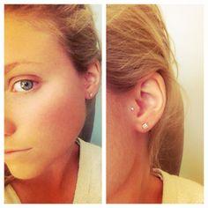 I want my tragus pierced like this.