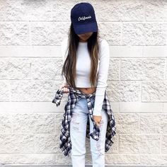 Outfits con gorra que tienes que llevar a la escuela