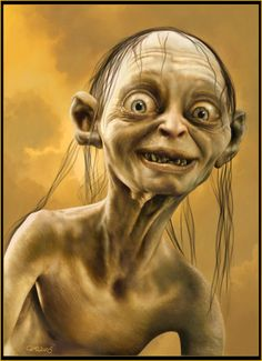 Tell me why I just saw a pic of Tiffany and it reminded me how you said she looks like gollum, can't stop laughing!