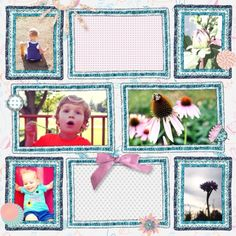 Project Life Layout using Summer Day Collab