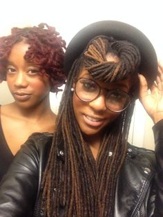 Dreadheads... women with dreads. Love the style. Yees