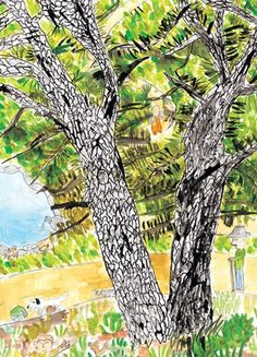 Bud Painting For Kids, Drawing For Kids, Art For Kids, Kids Art Space, Elementary Art, Photo Illustration, Art School, Art Education, Art Lessons
