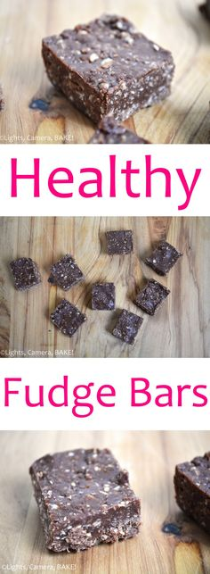 These Healthy Fudge Bars are wheat free, refined sugar free and can be vegan. These are no bake fudge bars that do not, in any way, taste healthy. Healthy Fudge, Vegan Fudge, Healthy Baking, Healthy Desserts, Healthy Recipes, Baking Tins, Baking Recipes, Dessert Recipes, White Chocolate Recipes