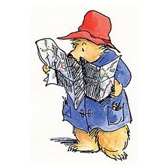 Peggy Fortnum 'Paddington Bear Lost Bear' Art