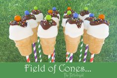 Ice Cream Cone Cake, Ice Cream Theme, Ice Cream Party, Minions, Cake Pop Tutorial, Chocolate Drizzle, Cake Tins, Cooking With Kids, Savoury Cake