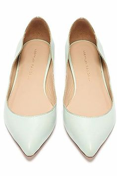 13 Pointed Flats That'll Sharpen Your Shoe Game #refinery29  http://www.refinery29.com/pointed-toe-shoes#slide-12  ...