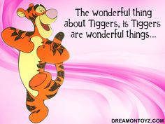 Tigger | Tigger pink wallpaper - The wonderful thing about Tiggers, is Tiggers ...