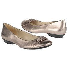"Naturalizer ""Minka"" flat in Nickel Alloy Leather, on sale at $49.99 down from $79. Work flat?"