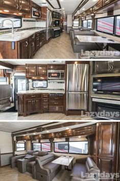 As far as RV interiors go, it's hard to beat this 2018 Fleetwood RV Bounder for sale now at Lazydays RV.