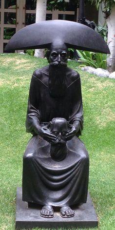 Escultura. Rafael Coronel