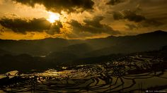 Sony Global - α CLOCK: world time, captured by α, Cultural Landscape of Honghe Hani Rice Terraces