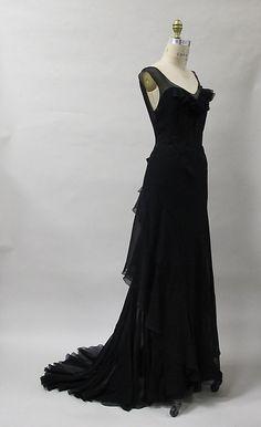 evening dress Charles James, 1930s The Metropolitan Museum of... - OMG that dress!