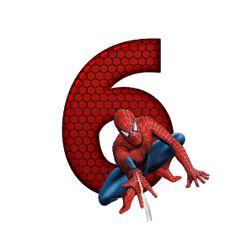 Spiderman Birthday Invitations, Superhero Birthday Party, 6th Birthday Parties, Spider Man Party, Spiderman Images, Black Spiderman, Superman Stickers, Spaider Man, Minion Coloring Pages
