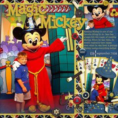 Perfect elements to digiscrap Sorcerer Mickey Mouse by FranB Designs