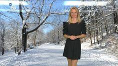 Mirka Almásy Slovakia Weather Presenter 19.1.2017