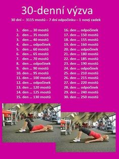 cviceni Tabata Training, Training Plan, Body Fitness, Health Fitness, Exercise To Reduce Thighs, Yoga Routine, Butt Workout, Workout Challenge, Fitness Inspiration