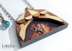 Dumbo inspired necklace. / Collar Dumbo. Colección by LaliblueShop, €25.00