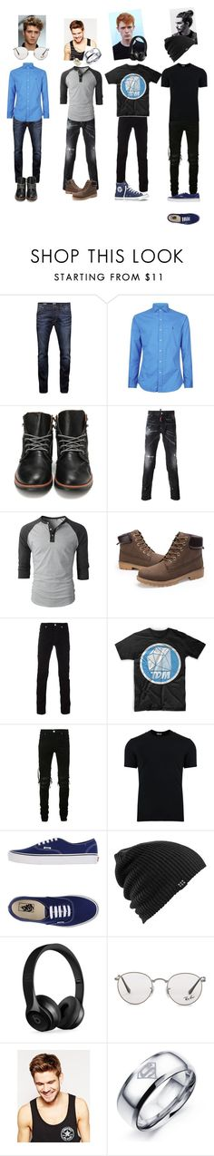 """Book Boys"" by i-understand ❤ liked on Polyvore featuring Jack & Jones, Polo Ralph Lauren, Dsquared2, Versace, Converse, AMIRI, Dolce&Gabbana, Vans, Burton and Beats by Dr. Dre"