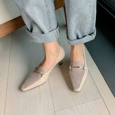 The post Chiko Alexxus Square Toe Kitten Heels Loafer appeared first on Chiko Shoes. Pointed Toe Block Heel, Block Heel Loafers, Heeled Loafers, Loafer Shoes, Block Heels, Black Flats Shoes, Shoes Heels Pumps, Hot Shoes, Casual Shoes