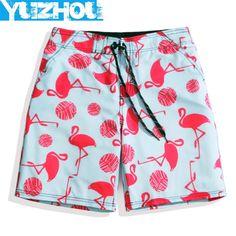 Yuzhou beach shorts men swimwear bermudas animal pattern surf hawaiian swim shorts swimwear joggers mens praia plus size plavky