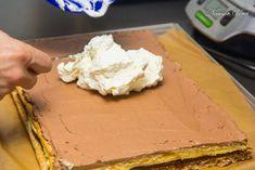 Prajitura Kinder Bueno | Nicusor Veres Deserts, Ice Cream, Food, Kitchen, Sherbet Ice Cream, Cooking, Desserts, Meal, Essen