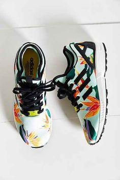 adidas Originals ZX Flux Tropical Running Sneaker - Urban Outfitters