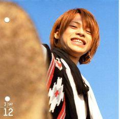 Ueda Tatsuya ; KAT-TUN Calendar : 03/12