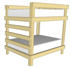 31 Free DIY Bunk Bed Plans & Ideas that Will Save a Lot of Bedroom Space