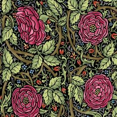 In The Beginning fabric store - Morris collection. #morris #design