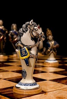 White Knight......Do you like it? #chess #chessgeeks