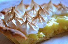 """Rien de meilleur qu'une tarte au citron meringuée façon """"mamie"""""""