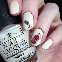 Tips and Topcoat: Nail Polish On My Nail Polish?   Happy INAD :)
