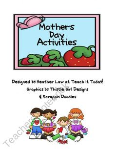 FREE! Mother's Day Activities from Teach It Today on TeachersNotebook.com (4 pages)