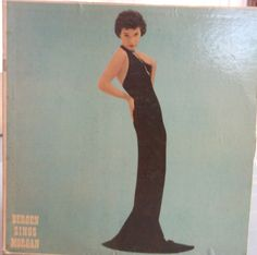 Polly Bergen Bergen Sings Morgan Vintage Record Album Vinyl LP Singer Actress Television Personality Torch Singer Love Songs