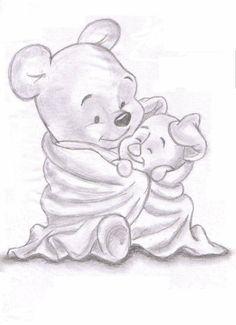 Winnie the Pooh n' Piglet♡♡