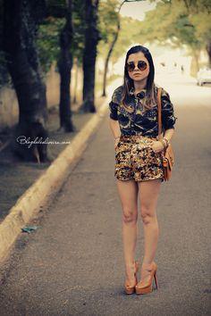 Blog da Lê-Moda Acessível: Short Sequins